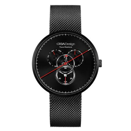 - Xiaomi CIGA Design Men's Quartz Analog Wrist Watch Waterproof Date Day Business Watch