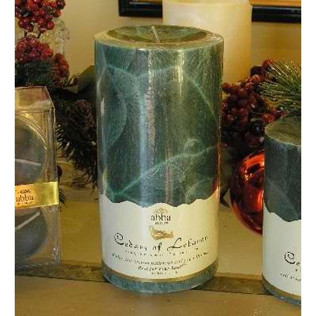 Candle-Cedars Of Lebanon 3x6 Palm Pillar