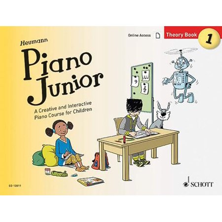 Piano Junior: Theory Book Vol. 1 : A Creative and Interactive Piano Course for (Course Kids Cotton Naturals)