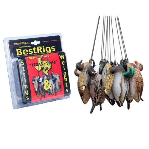 Cherokee Sports Texas-Style Decoy Strings and Weights