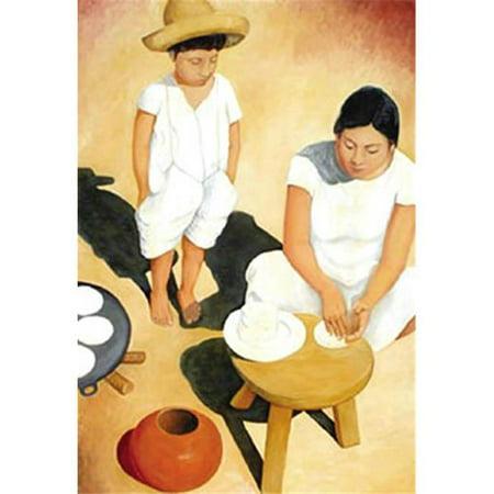 Hot Stuff 1007-24x36-LA Tortilla affiche de femme - image 1 de 1