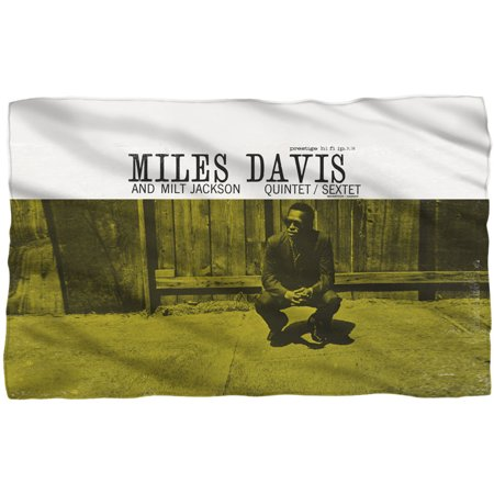 Miles Davis Reader (Miles Davis Fleece Blanket )
