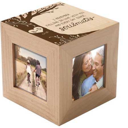 Personalized Soulmates Photo Cube](Photo Cubes)