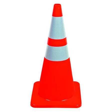 6FHA1 28In Traffic Cone, - Orange Traffic Cones