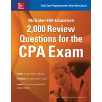McGraw-Hill Education 2,000 Review Questions for the CPA Exam (Paperback)