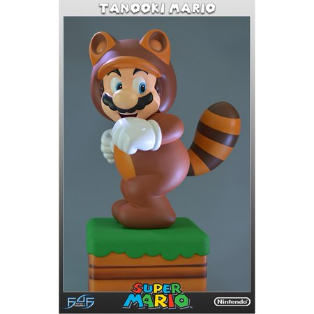 - First 4 Figure F4F045 Tanooki Mario Super Mario 3D Land Limited edition Statue