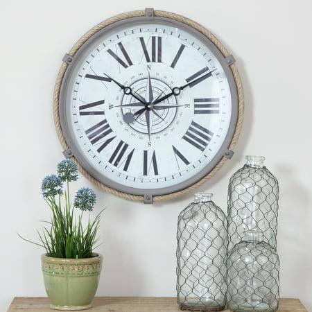 Seabrook Nautical Wall Clock ()