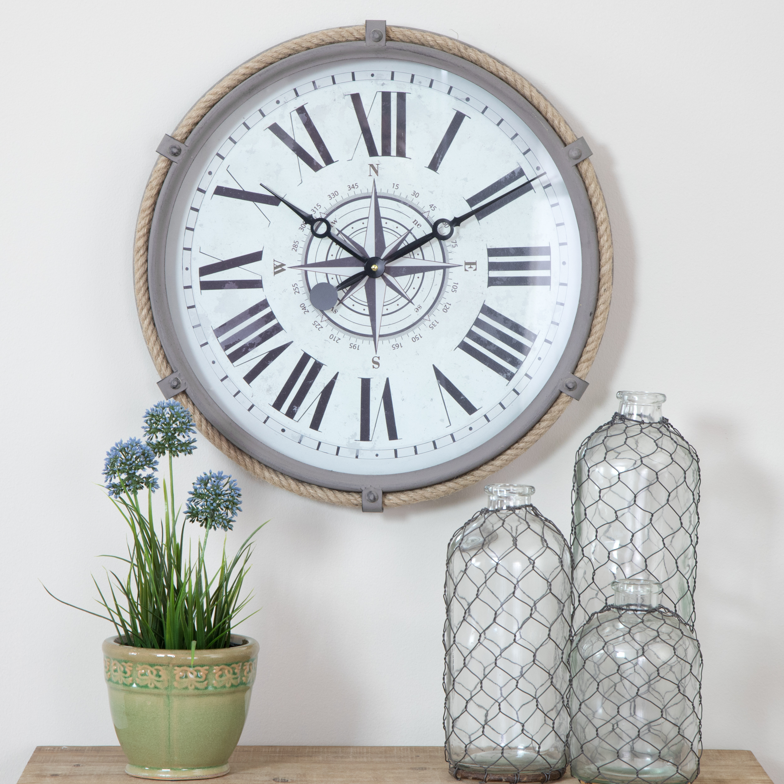 Seabrook Nautical Wall Clock