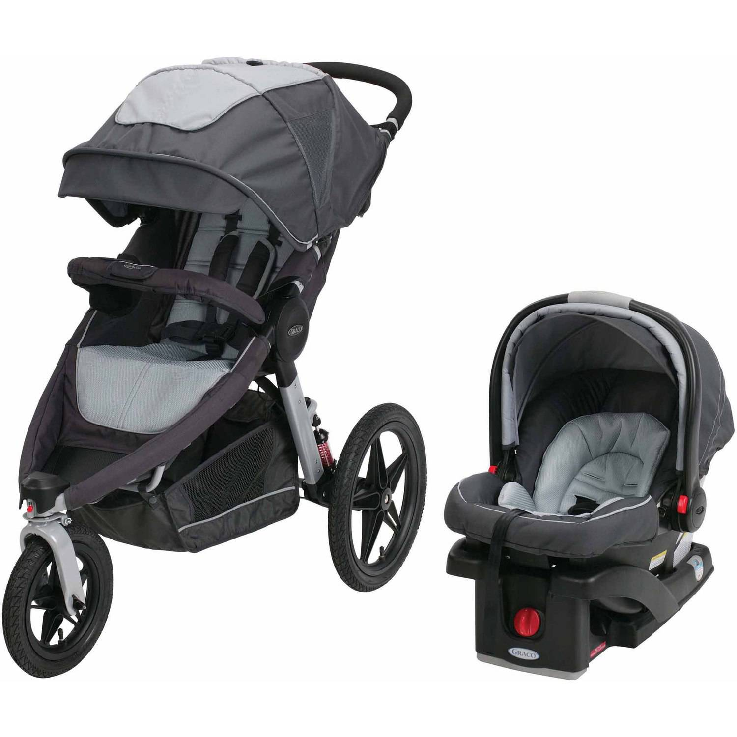 Graco Relay Click Connect Jogging Stroller Infant Travel System by Graco