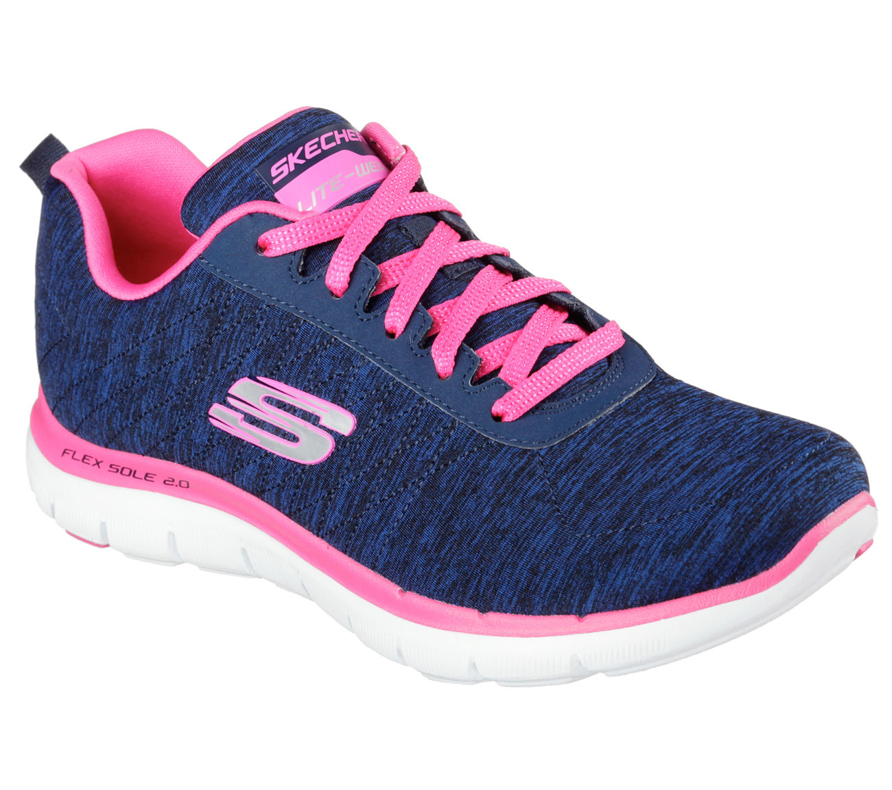 Skechers 12753 NVPK Women's FLEX APPEAL 2.0-Training by Skechers