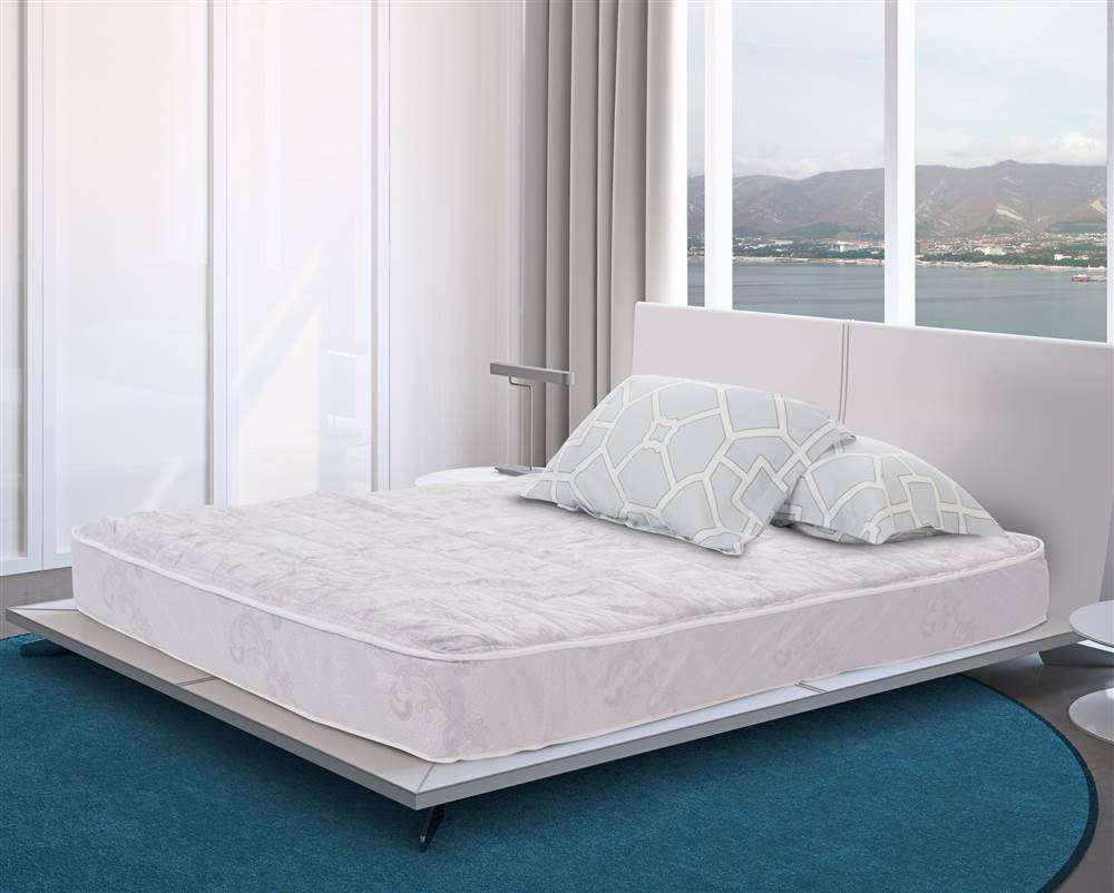 sleep comfort quilt twin size innerspring mattress bed in a box twin - Innerspring Mattress