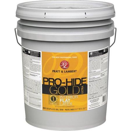 Pratt Lambert Pro Hide Gold Ultra Latex Flat Interior Wall Paint