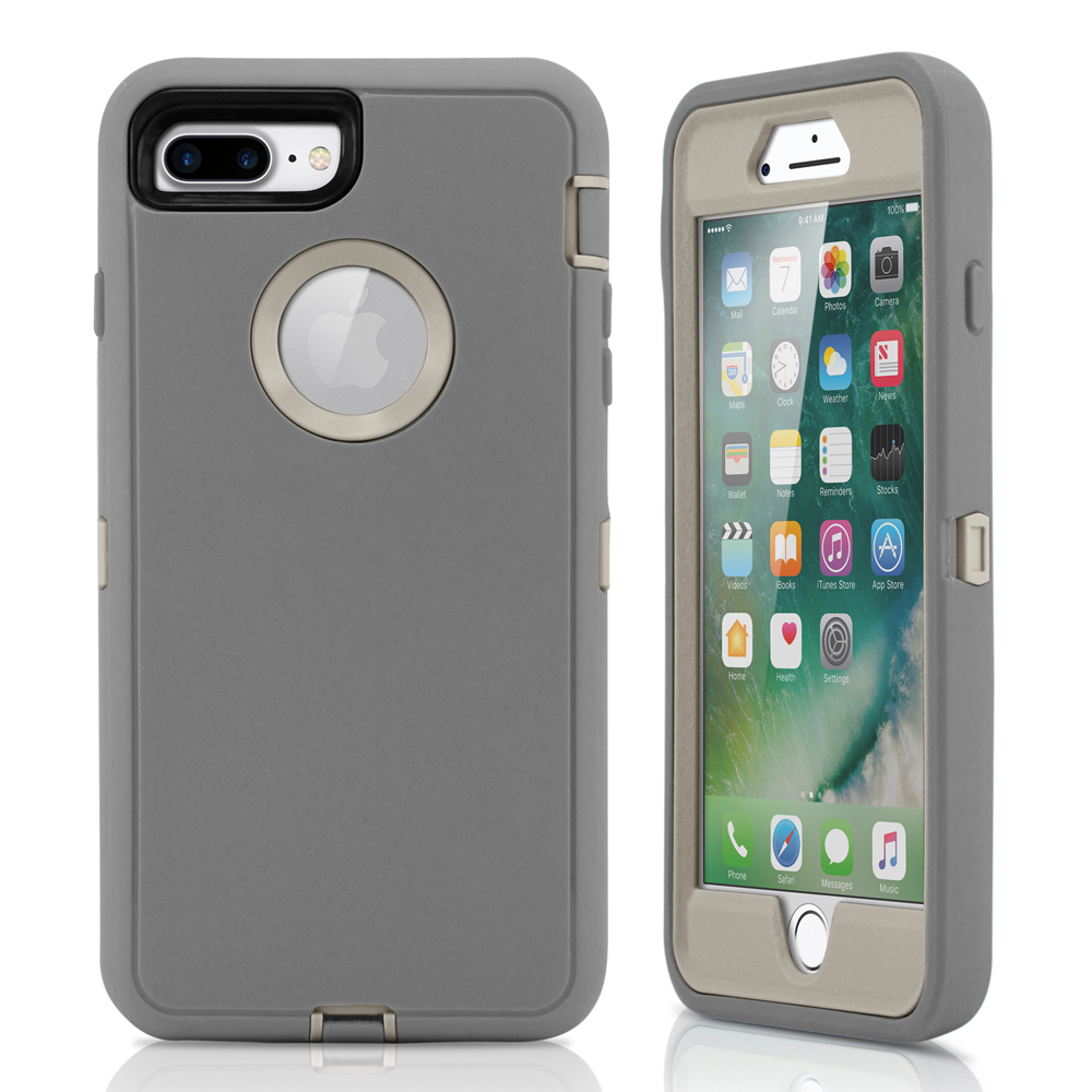 For Iphone 7 Plus Case Rugged Shockproof Hard Case Protective Cover Walmart Com Walmart Com