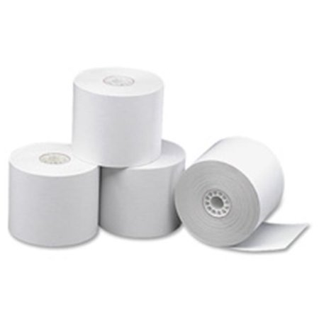 Paper Roll, Single Ply, Bond, 2.25 in. x 165 ft., 100RL-CT, WE - image 1 of 1