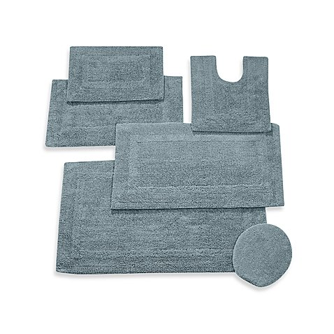 Reversible Contour Bath Rug In Sea, Bring An Effortless Touch Of Style To  Your Bathroom
