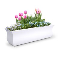 Valencia 3ft Window box - White