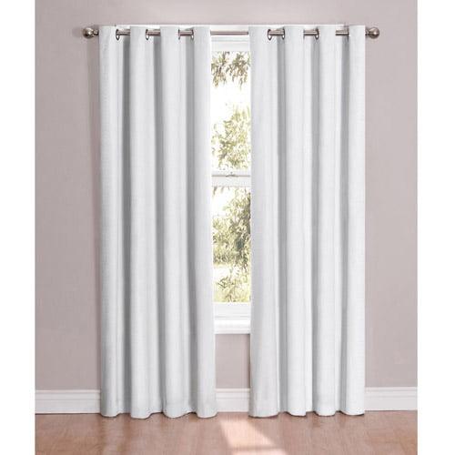 white energy efficient & blackout curtains - walmart