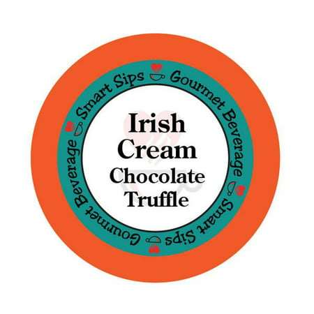 Chocolate Irish Truffles (Irish Cream Chocolate Truffle Flavored Coffee, 24 Count, Compatible With All Keurig K-cup)