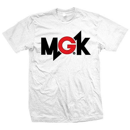 Machine Gun Kelly Mgk Logo Mens T Shirt White