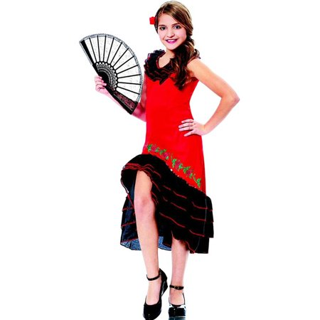 Spanish Senorita Kids Costume (Senorita Costumes)