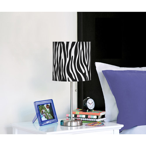 Teen Scene Zebra Stick Table Lamp