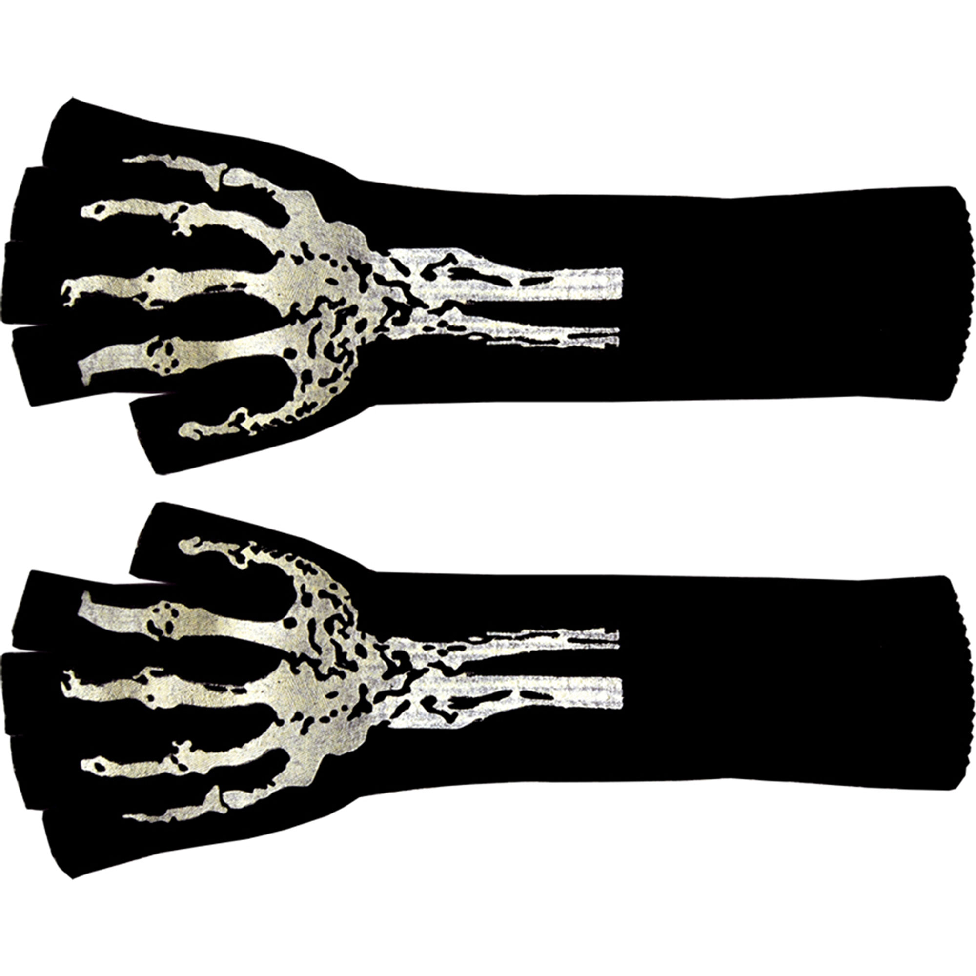 Morris Costumes Unisex Poly Spandex Black Knit Long Fingerless Gloves, Style SA10263