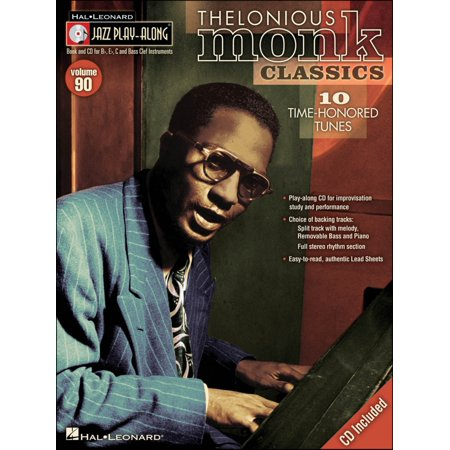 Hal Leonard Thelonious Monk Classics - Jazz Play-Along Volume 90 (CD/Pkg)