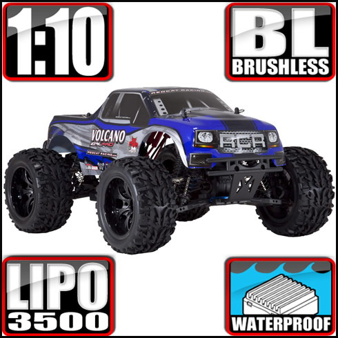 Redcat Racing VOLCANOEPPRO-94111PRO-BS Volcano EPX PRO 1/10 Scale Brushless Truck