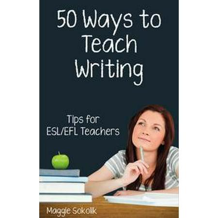Fifty Ways to Teach Writing: Tips for ESL/EFL Teachers - eBook](Teachers Pay Teachers Halloween Writing)