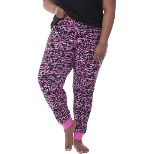 Fit for Me by Fruit of the Loom Women's Plus Waffle Thermal Pant