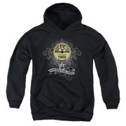 Sun Records Rockin Scrolls Big Boys Pullover Hoodie