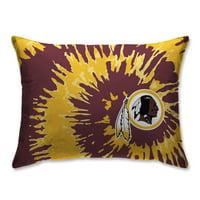 Washington Redskins Tie Dye Plush Bed Pillow - Maroon - No Size