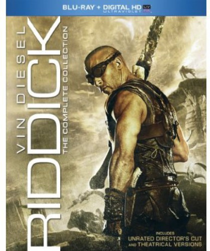 Riddick: The Complete Collection (Blu-ray) by UNIVERSAL STUDIOS HOME ENTERT.