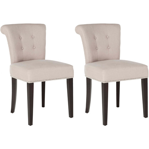 Safavieh Sinclair Ring Chairs with Nail Heads, Set of 2, Multiple Colors