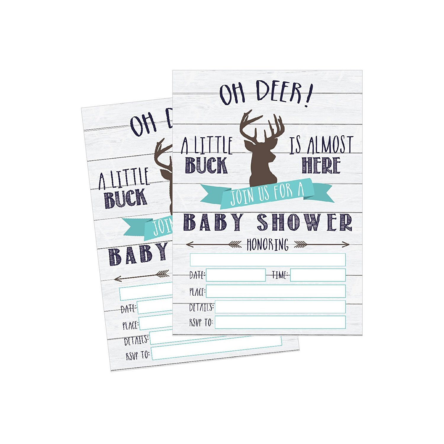 image about Printable Invitations named 50 Fill within Deer Child Shower Invites, Youngster Shower Invites On the lookout, Tenting, Camo, Buck, Rustic, Impartial, Woodland Youngster Shower Invitations for Boy,