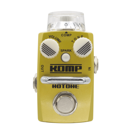 Hotone KOMP Opto Compressor Guitar Effect Pedal
