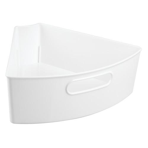 InterDesign Lazy Susan Kitchen Cabinet Organizer Storage Binz, 1/6, White