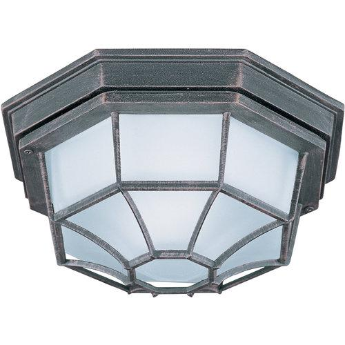 Maxim  MX 87920  Ceiling Fixtures  Flush Mount EE  Outdoor Lighting  Flush Mount  ;Rust Patina