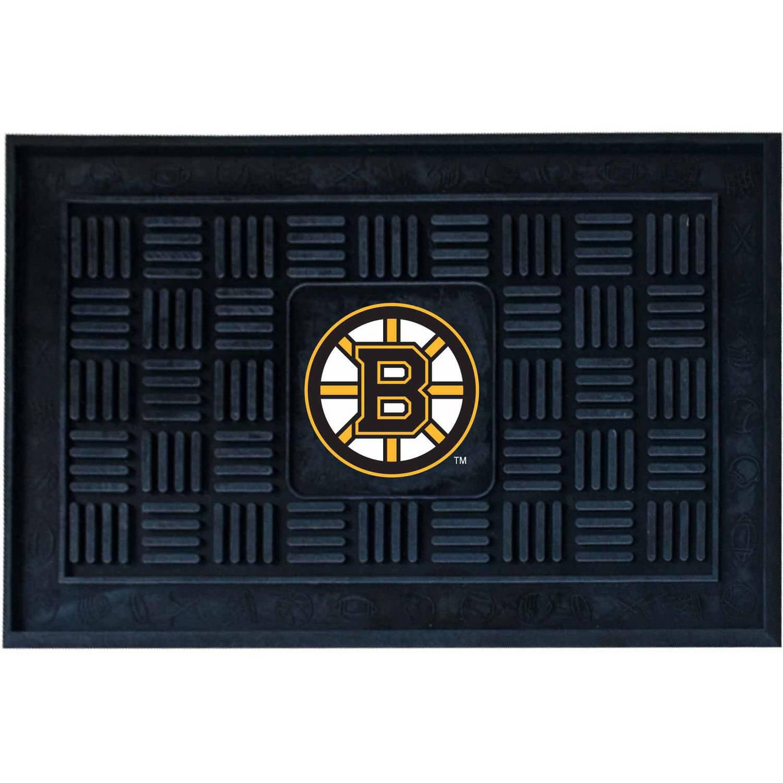 NHL Boston Bruins Medallion Door Mat
