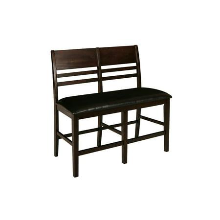 Neo Classic Furniture (New Classic Furniture Latitudes Chestnut Horizontal Slat Counter Bench)