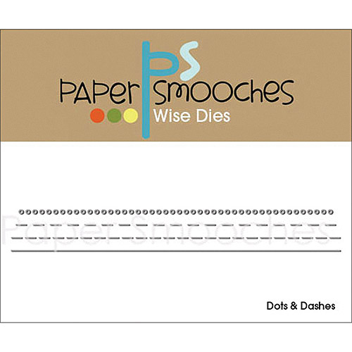 Paper Smooches Dots and Dashes Die Multi-Colored