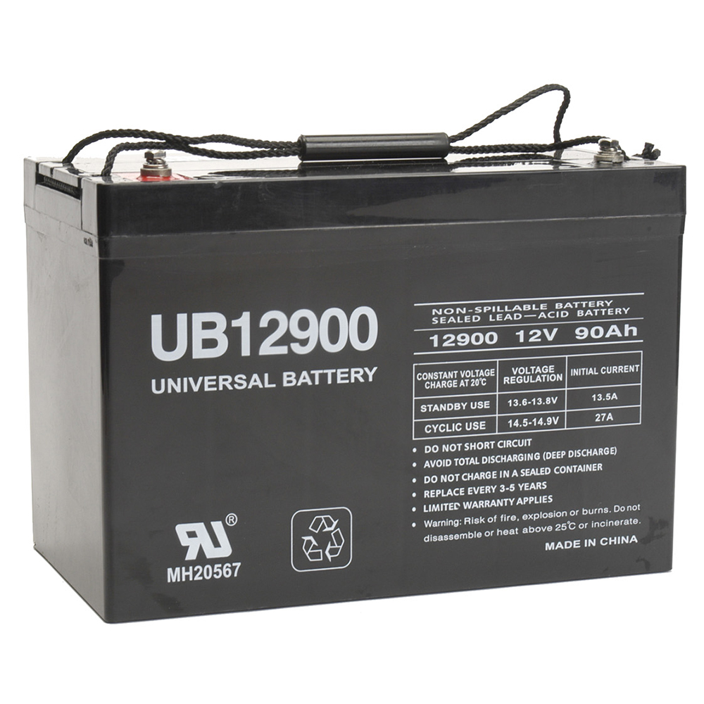 12V 90Ah Replacement for PC121000 PG-12V92 PRC12100 PS-121000 PX12800 TC12100