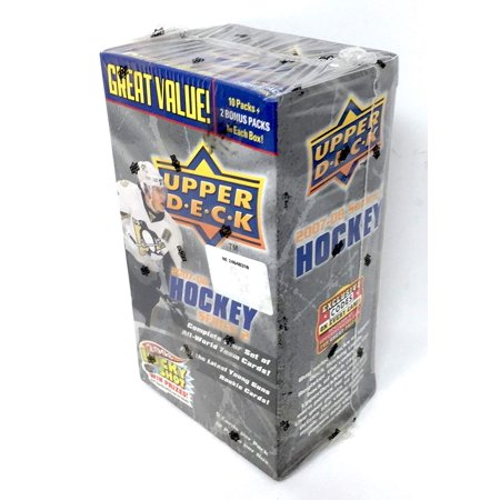 2007-08 Upper Deck Series 2 Hockey NHL Value Box -Complete Your Set of All-World Team Cards! (12 Pack Box) ()