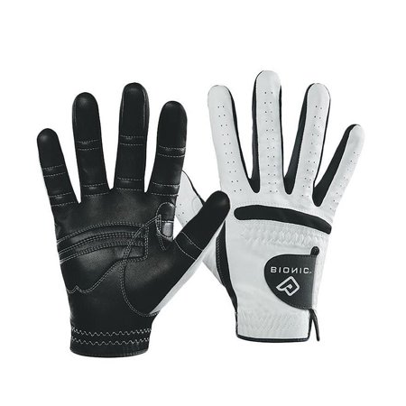 Bionic Mens Fitness Gloves - Bionic Men's RelaxGrip Black Palm Right Hand Golf Glove