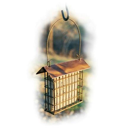 Woodlink Audubon Series Copper Top Single Suet Cage