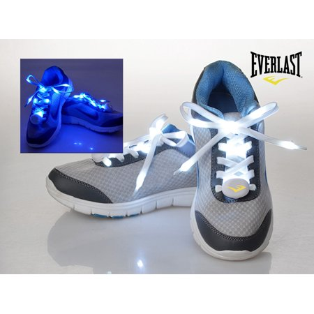 Everlast? LED Light Up Shoelaces Green - 3 modes: Glow, Fast and Slow - Led Light Up Shoelaces