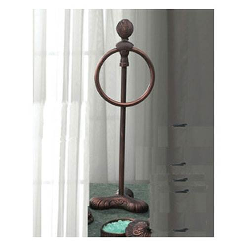 Oceanus Vanity Towel Ring (Antique Bronze)