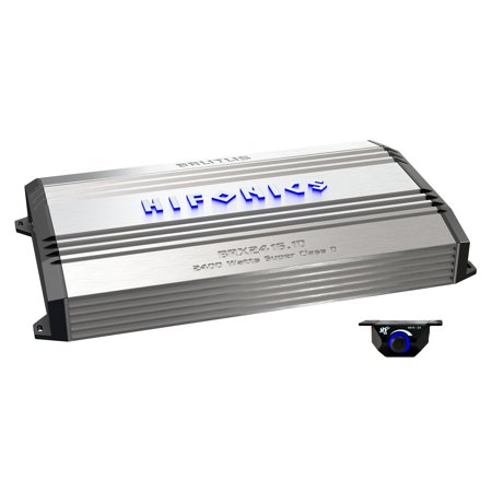 Hifonics Brutus 2400W Mono D Car Power Amplifier with Bass Remote | BRX2416.1D