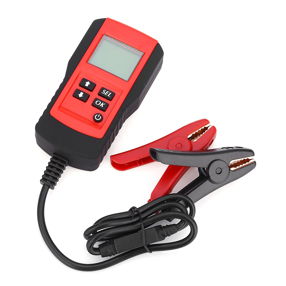 AE300 12V Vehicle Car Digital Battery Test Analyzer Diagnostic Tool ( red and yellow is random when delivering )