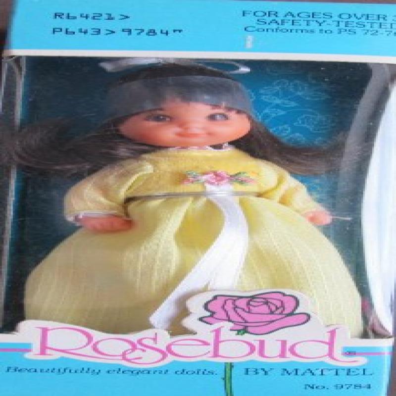 Vintage Mattel ROSEBUD Doll BABY GOLD STAR ROSE (1976 Mattel Hawthorne) by